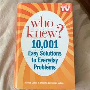 Other - who knew? 10,001 Easy Solutions to Problems book